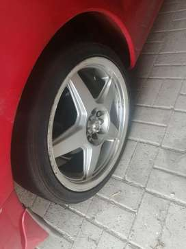 """17"""" rims with tyers"""