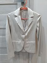 Damski komplet/garnitur - marynarka spodnie i koszula