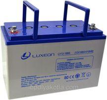 Аккумулятор Luxeon LX12-100G 100Ah, гелевый (Gel) для ИБП
