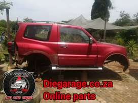 Mitsubishi Pajero Gen4 3.8 6g75 Stripping for spares