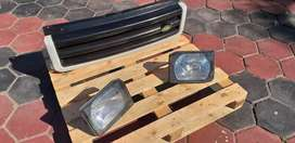 Land rover discovery 2 grill + headlights
