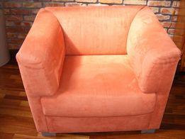 Fotel nowy - alcantara