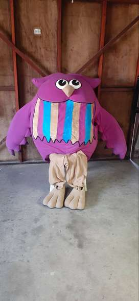 Owl Mascot for sale at R3600 neg.