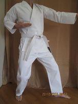 Кимоно кімано для карате дзюдо джиу джитсу айкидо белое кимано кімоно