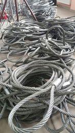 Zawiesie linowe, lina stalowa holownicza, długość 5m, fi20mm