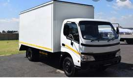 4 Ton Closed Body Truck For Hire