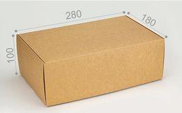 Коробка универсальная из крафт картона 280*180*100