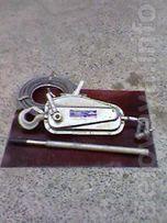 Продам таль рычажную МТМ-1,6т (туапсину)TIRFOR Индия (новая).