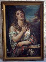 Картина - Кающаяся Мария Магдалина - Тициан копия - Е. Маковей