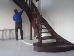 Сходи деревяні.Сходові марші.Лестницы