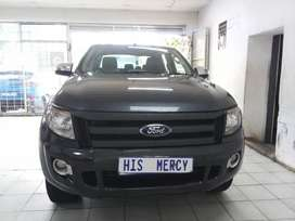 2013 FORD RANGER 3.2XLT 6SPEED AUTOMATIC