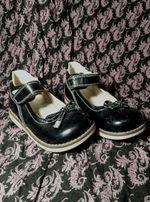 Ортопедические туфли на девочку