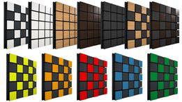 Звукоизоляция стен, акустический поролон, акустические панели
