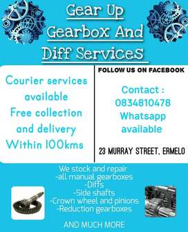 Gear up gearbox and diff services