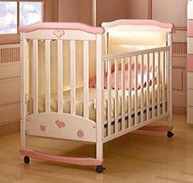 """Кроватка Соня """"Верес"""", матрасик и комплект постельного с балдахином"""