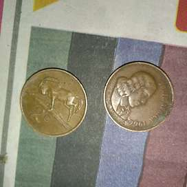 Old coin 2c