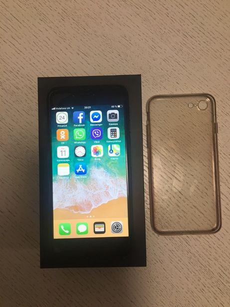 Срочно продам в идеальном состояние IPHONE - 7 BLACK 128gb ОТ ХОЗЯИНА!