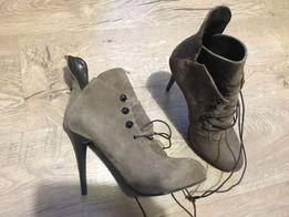 Ботильйони демісезонні Vero Cuoio,черевики,ботинки 40