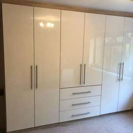 Kitchen and bedroom cupboards
