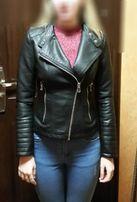 Куртка косуха с еко кожи.