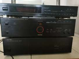 Rotel system and Denon Tuner