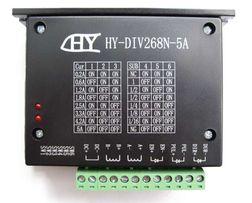 Драйвер шагового двигателя HY-DIV268N-5A (TB6600) до 5A