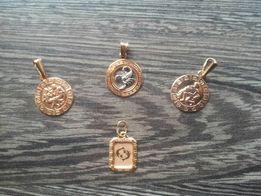 Золотые знаки зодиака 585 пробы