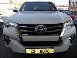 2019 White Toyota Fortuner 2.4 Gd6 4x4
