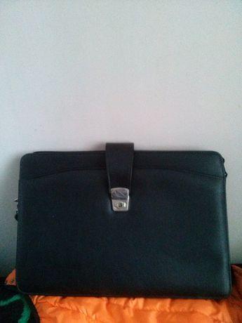 Продаю чоловічу кожану папку-сумку Киев - изображение 1