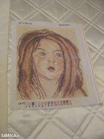 Kanwa do haftu gobelinowego 24x30 - Portret Helenki - Super cena!!!