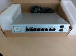 Продам новые коммутаторы UBNT Ubiquiti UniFi Switch US-8-150W