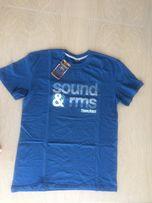 Nowy T-shirt męski granatowy Ramoss Collection XXL