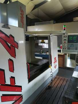 Haas FV4 vertical machining centre for sale