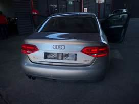 Stripping of Audi A4 B8 1.8T for parts with papers