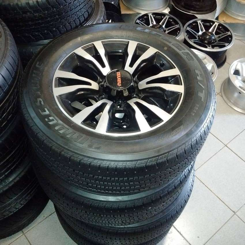 """18"""" Isuzu X-Rider mags with 255/60/18 tyres for R12799"""