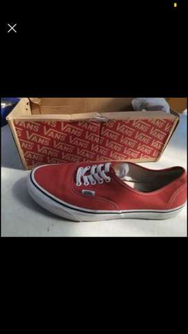 Vans size 9. Worn twice.