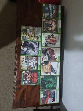 Xbox 360 games. You can buy all for a R1200 or buy it separately