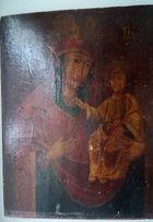 икона Божьей Матери на дереве