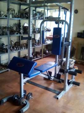 Trojan home gym set
