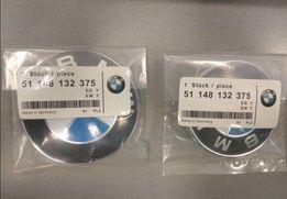 Значек на капот багажник BMW 82мм 74мм 78 БМВ значок емблема шильдик