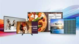 Advertising digital screens company for sale with passive income