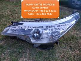 TOYOTA FORTUNER GD6 LH XENON HEADLIGHT / HEAD LAMP