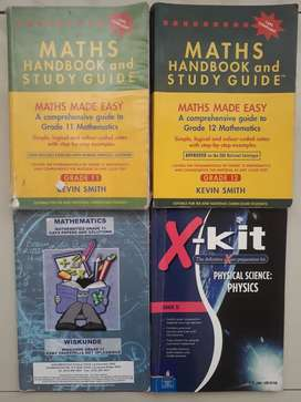 Maths Physics exam preparations books for Grade 12 and 11