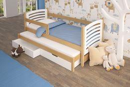 Łóżko podwójne OLI w super cenie ! Materace + szuflady GRATIS !