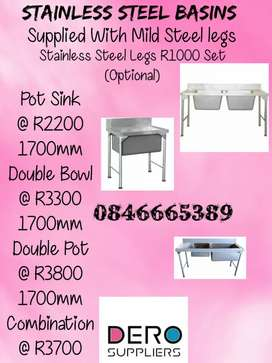 Stainless Steel Basin or Sinks