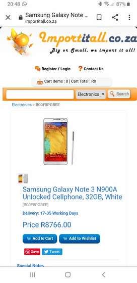 Looking for a used good condition Note 3 must be clean
