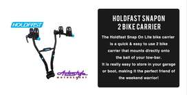 Holdfast SnapOn 2 Bike Carrier  The Holdfast Snap On Lite bike carrier
