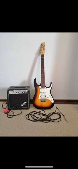 GIO Ibanez Guitar, First Act AMP