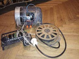 Мотор від пилесоса+кабель