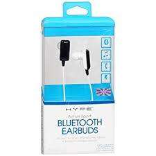 Hype Active Sport Bluetooth Wireless Rechargeable Stereo Earbuds w/Mic 0